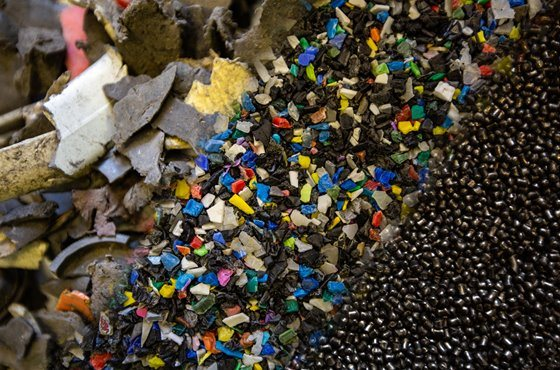 ASR & WEEE Plastic Recycling UK