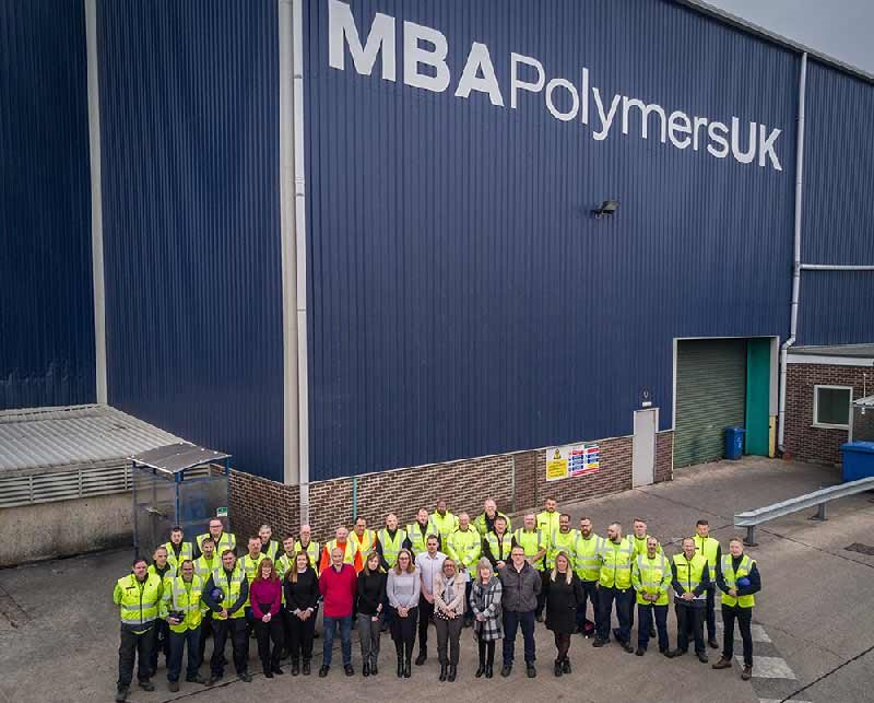 MBA Polymers UK announced as Finalist at the Awards for Excellence in Recycling & Waste Management 2